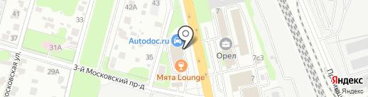 Мята Lounge на карте Домодедово