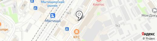 Магазин чая и кофе на карте Мытищ