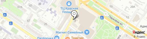 Адвокатский кабинет на карте Новороссийска