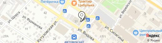 Домашний доктор на карте Новороссийска