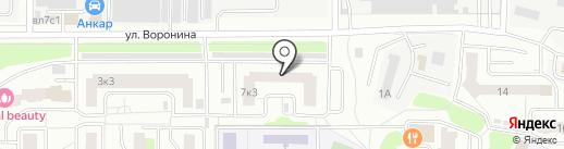 Продуктовый магазин на карте Мытищ