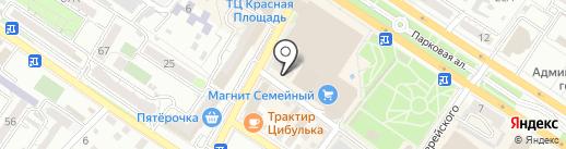 Sharm на карте Новороссийска