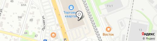 Адамас на карте Домодедово