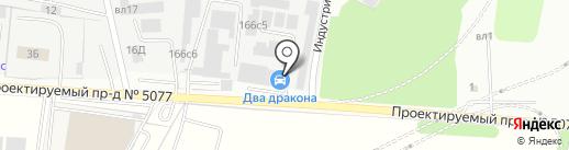 Витрегион на карте Видного