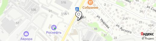 Многофункциональная хирургическая клиника на карте Новороссийска