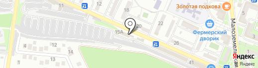 Вик-Авто на карте Новороссийска