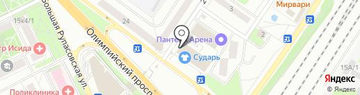 БалтБет на карте Мытищ