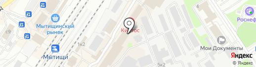 ЕвроАзиатская электротехническая компания на карте Мытищ