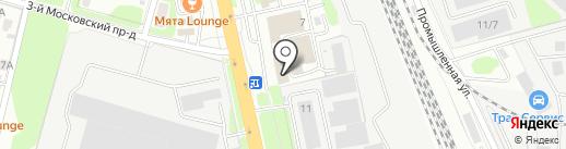 Фортуна-Аэро-Карго на карте Домодедово