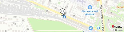 Exclusive на карте Новороссийска