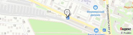 Авто Банда на карте Новороссийска