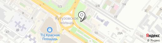 Preciosa на карте Новороссийска