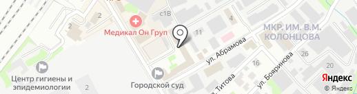 Городская юридическая консультация на карте Мытищ