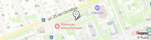 ЖЭУ №2 на карте Домодедово