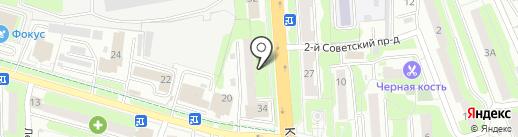 Горбытсервис на карте Домодедово