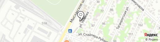 СЕВЕР на карте Новороссийска