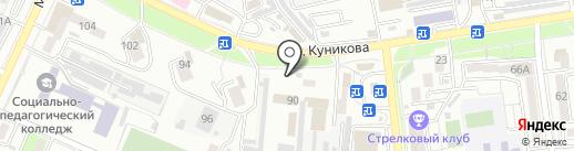 Причерноморская противочумная станция г. Новороссийска на карте Новороссийска