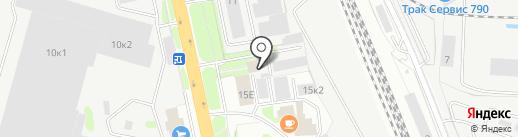 ПОДОЛЬСКМЕЖРАЙГАЗ на карте Домодедово