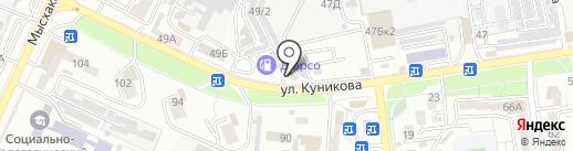 MICHELIN Tyre Plus на карте Новороссийска