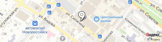 Континент на карте Новороссийска