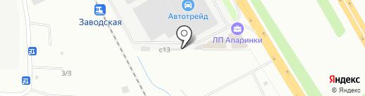 Продуктовый магазин на карте Апаринок