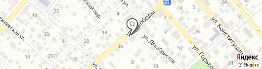 Шиномонтажная мастерская на карте Новороссийска