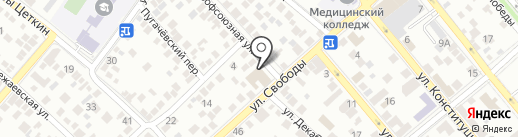 Собинбанк на карте Новороссийска