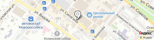 Giza на карте Новороссийска