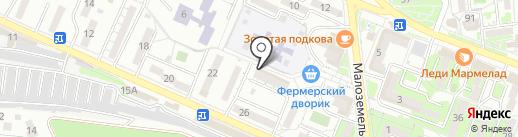Региональная платежная служба на карте Новороссийска