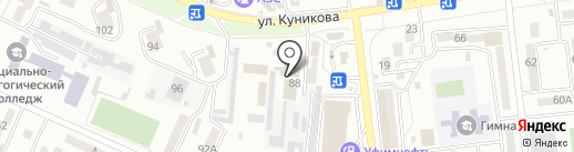 Пожарная часть №9 на карте Новороссийска