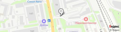 Агентство переездов на карте Домодедово