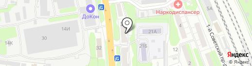 ОВВК комплект на карте Домодедово