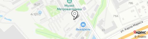 Калган-С на карте Мытищ