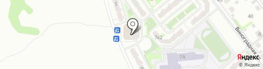 Пятерочка на карте Домодедово