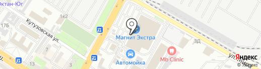 Aletto на карте Новороссийска