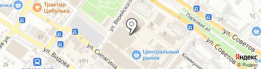 Штучки, к которым тянутся ручки на карте Новороссийска