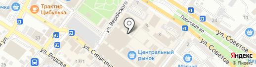 Юг-Фарма на карте Новороссийска