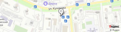 Таврия на карте Новороссийска