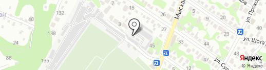 ТИТАН-СК на карте Новороссийска