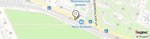 НовороссЭЛЕКТРО на карте Новороссийска