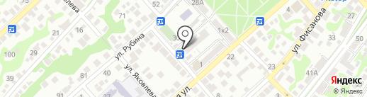 Участковый пункт полиции Центрального района на карте Новороссийска