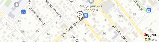 БСФ на карте Новороссийска