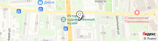Отдел по надзору за техническим состоянием самоходных машин и других видов техники №5 на карте Домодедово