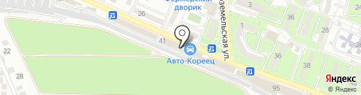 Opel на карте Новороссийска