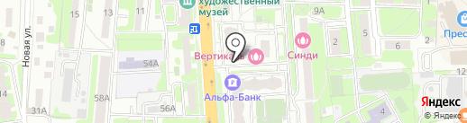 Топографо-геодезическая компания на карте Домодедово