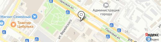 Pedant Новороссийск на карте Новороссийска