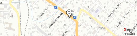 Ани на карте Новороссийска