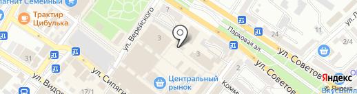 Новороссийская Птицефабрика на карте Новороссийска