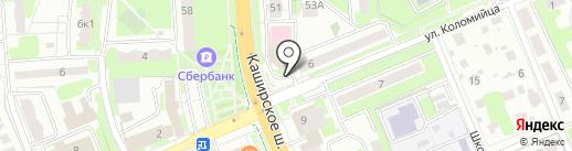Отдел статистики на карте Домодедово