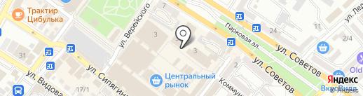 Как у бабушки на карте Новороссийска